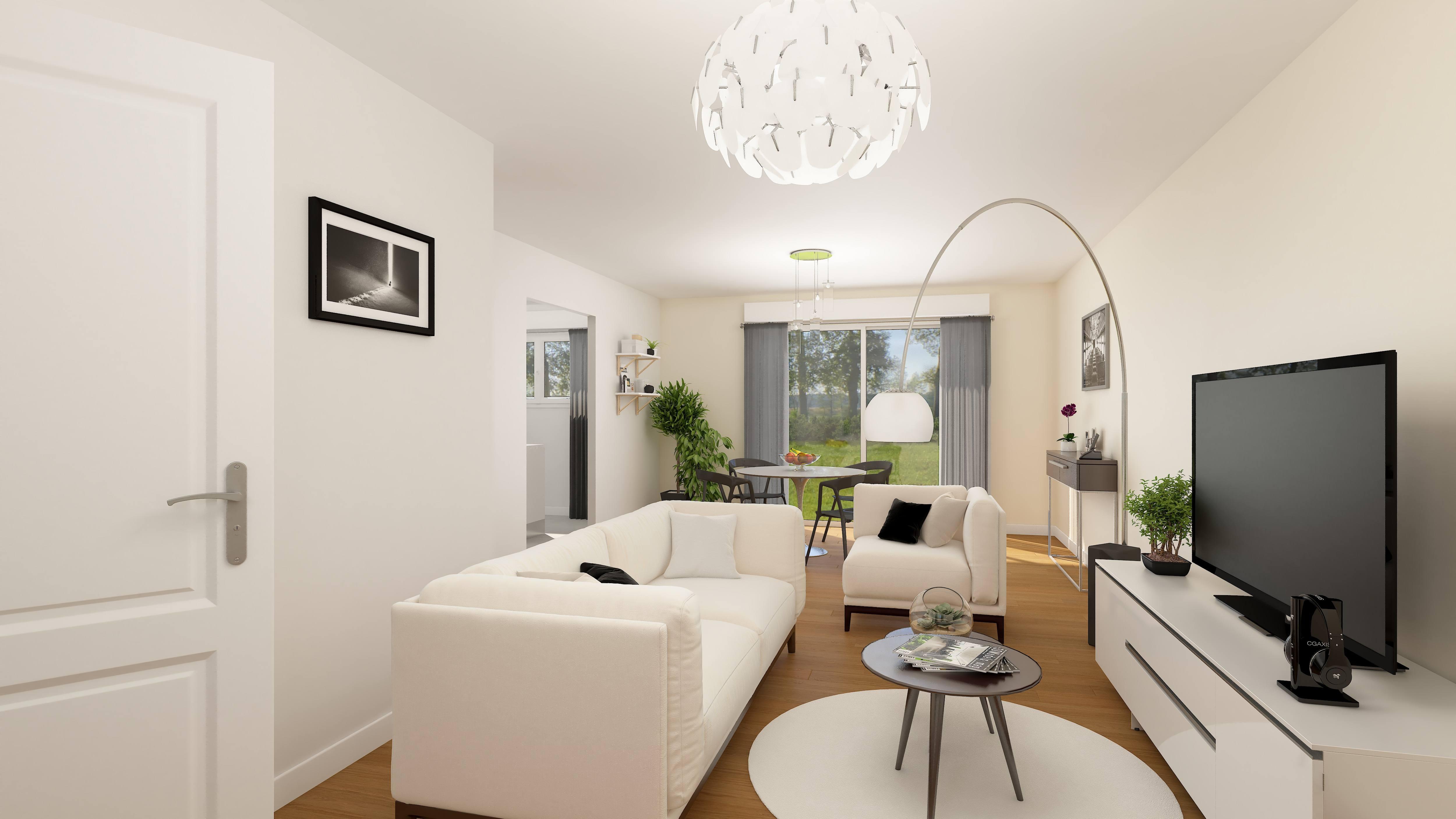 Maisons + Terrains du constructeur RESIDENCES PICARDES • 85 m² • BABOEUF