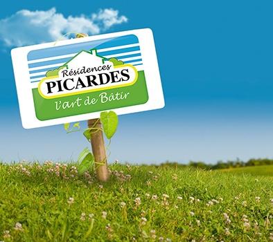 Terrains du constructeur LES RESIDENCES PICARDES ROYE • 1553 m² • MOYENCOURT