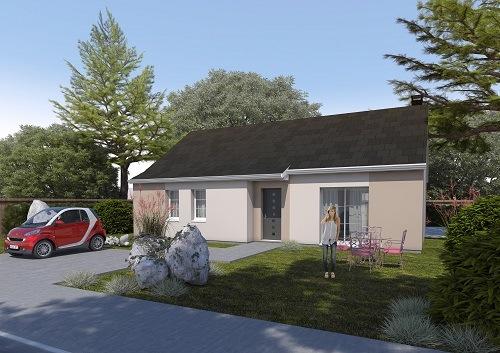 Maisons + Terrains du constructeur HABITAT CONCEPT LA RIVIERE ST SAUVEUR • 90 m² • PONT AUDEMER