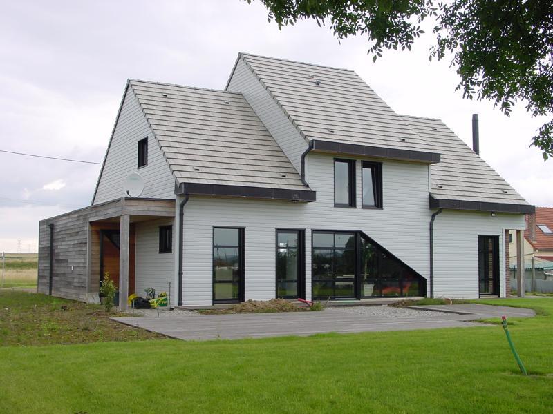 Maisons + Terrains du constructeur HABITAT CONCEPT LA RIVIERE ST SAUVEUR • 127 m² • BEUZEVILLE