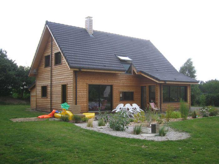Maisons + Terrains du constructeur HABITAT CONCEPT LA RIVIERE ST SAUVEUR • 110 m² • BEUZEVILLE