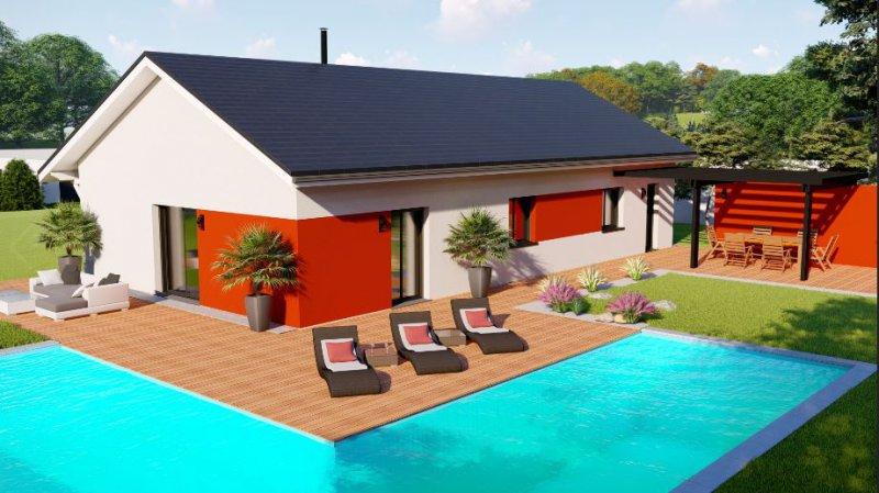 Maisons du constructeur DESIGN BATIMENT MAX IMMO • 80 m² • GRANIEU