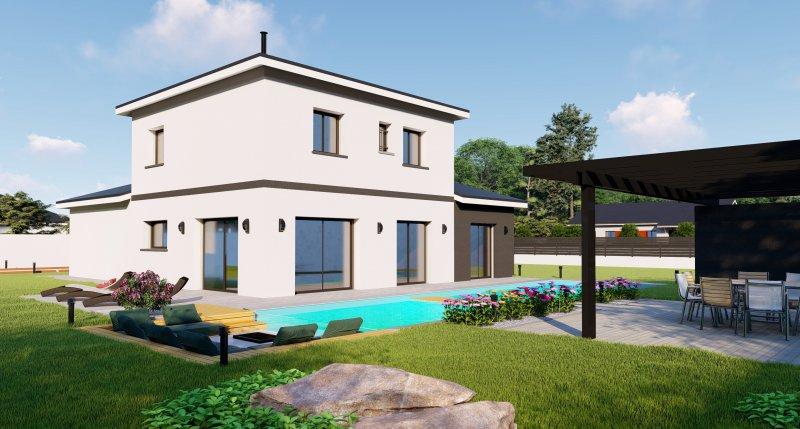 Maisons du constructeur DESIGN BATIMENT MAX IMMO • 94 m² • LA COTE SAINT ANDRE