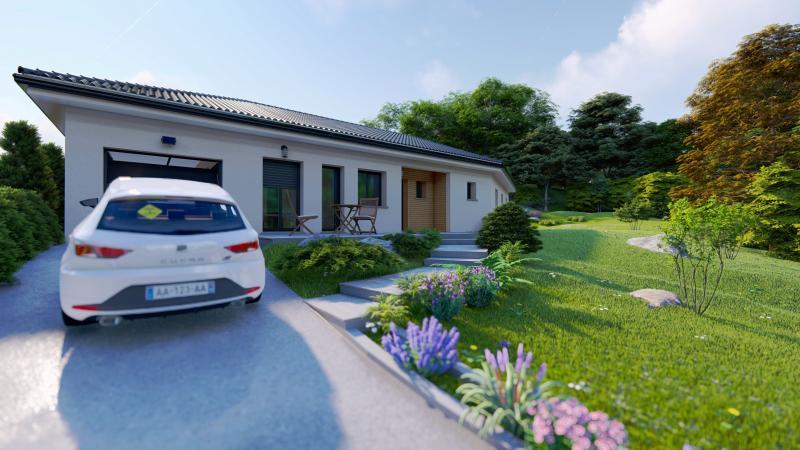 Maisons du constructeur DESIGN BATIMENT MAX IMMO • 90 m² • LA COTE SAINT ANDRE