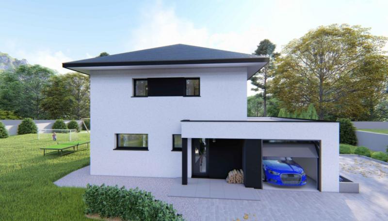 Maisons du constructeur Design Batiment Maximmo • 90 m² • SAINT GEOIRE EN VALDAINE
