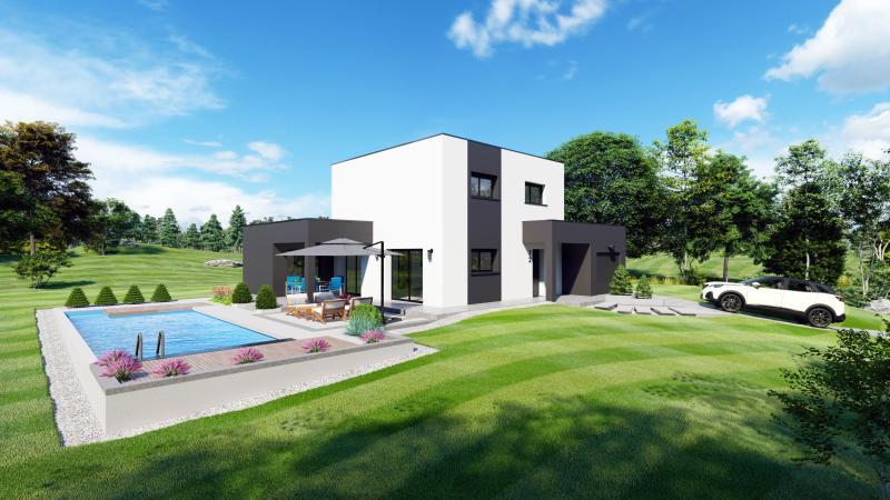 Maisons du constructeur Design Batiment Maximmo • 94 m² • CRACHIER