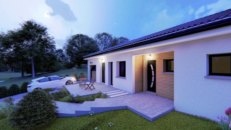 Maisons du constructeur Design Batiment Maximmo • 100 m² • BOURGOIN JALLIEU