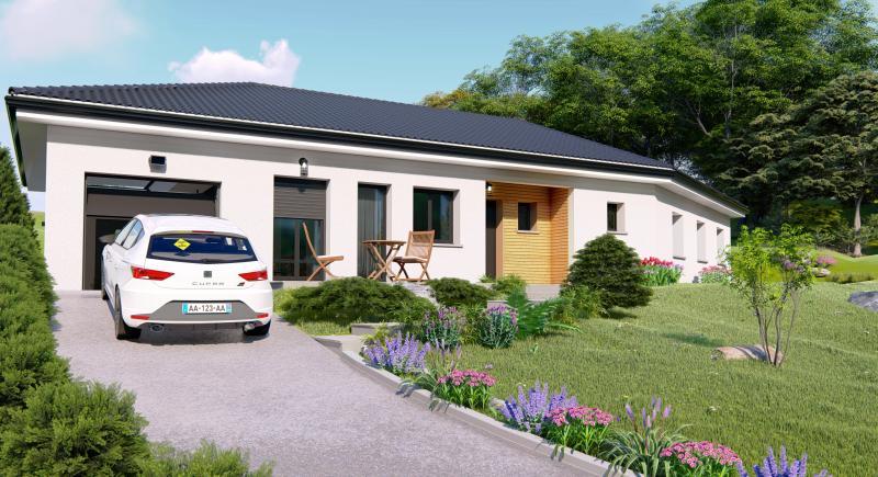 Maisons du constructeur Design Batiment Maximmo • 100 m² • SAINT AGNIN SUR BION