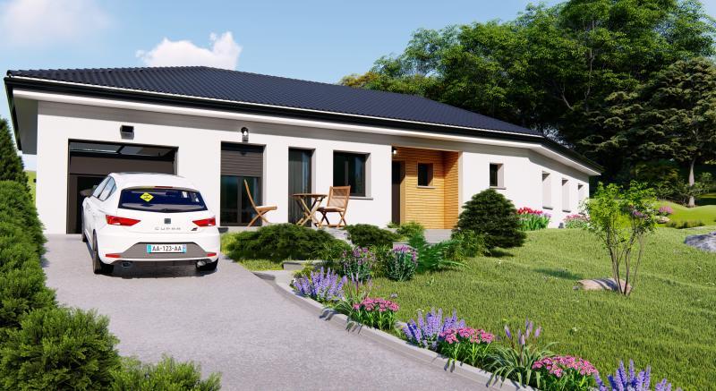 Maisons du constructeur Design Batiment Maximmo • 100 m² • CORBELIN