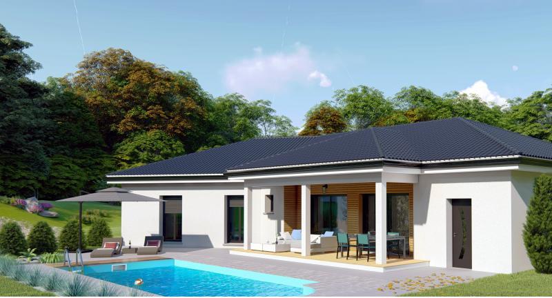 Maisons du constructeur Design Batiment Maximmo • 100 m² • LES ABRETS