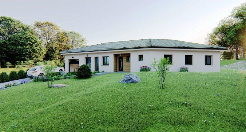 Maisons du constructeur Design Batiment Maximmo • 92 m² • LE PONT DE BEAUVOISIN
