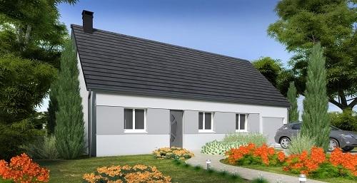Maisons + Terrains du constructeur HABITAT CONCEPT BETHUNE • 73 m² • LAPUGNOY