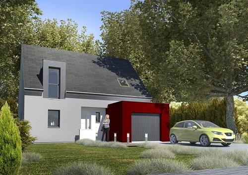 Maisons + Terrains du constructeur HABITAT CONCEPT BETHUNE • 100 m² • DIEVAL