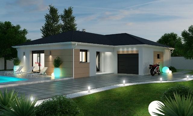 Maisons + Terrains du constructeur MAISONS AXIAL • 120 m² • JULIENAS