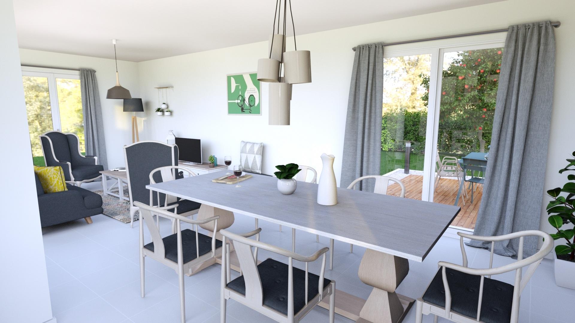 Maisons + Terrains du constructeur MAISONS AXIAL • 91 m² • APPRIEU