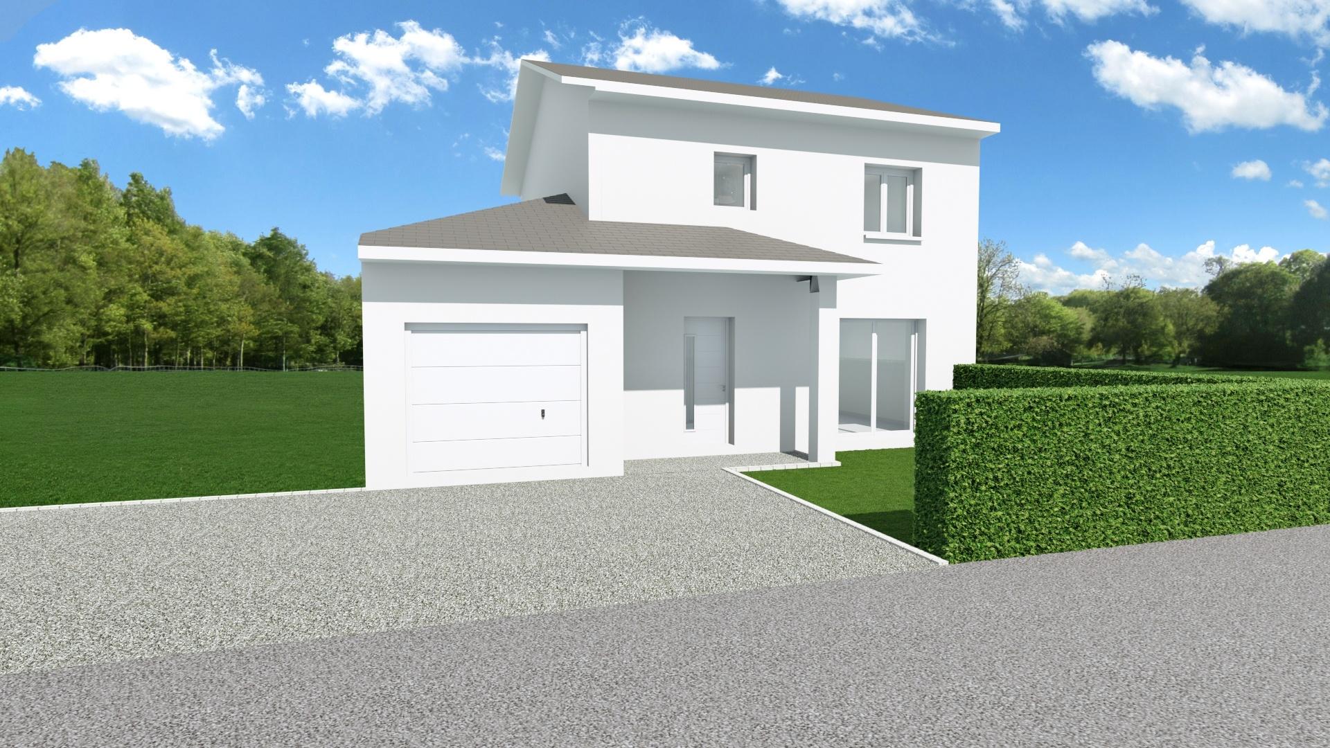 Maisons + Terrains du constructeur MAISONS AXIAL • 89 m² • LES EPARRES