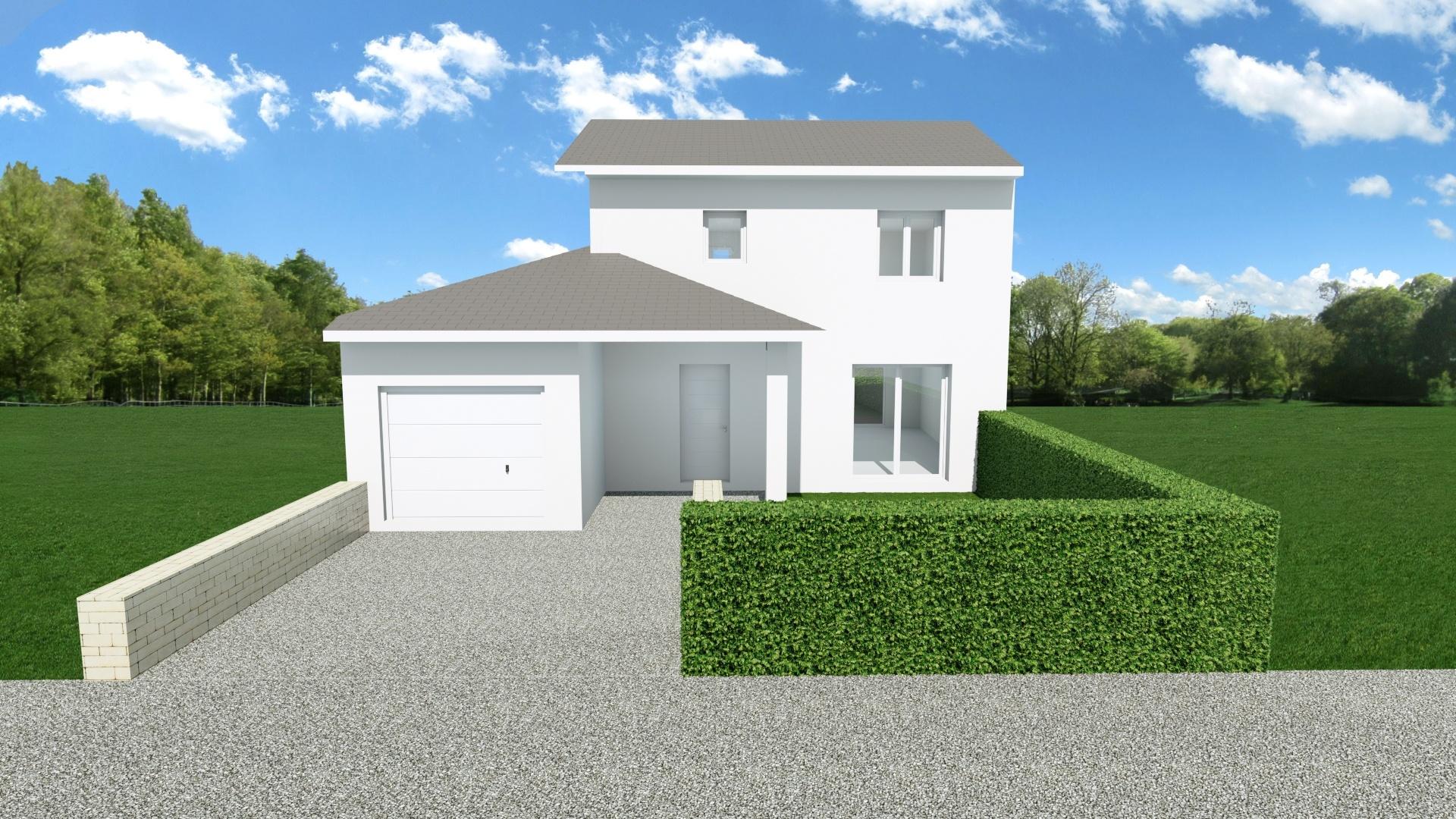 Maisons + Terrains du constructeur MAISONS AXIAL • 91 m² • LES EPARRES