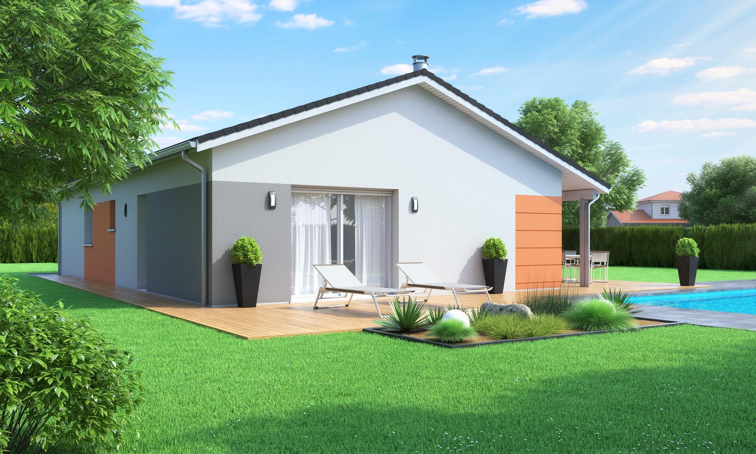 Maisons + Terrains du constructeur MAISONS AXIAL • 80 m² • LE GRAND LEMPS