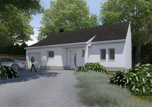 Maisons + Terrains du constructeur RESIDENCES PICARDES SOISSONS • 74 m² • CIRY SALSOGNE