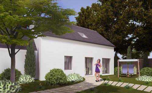 Maisons + Terrains du constructeur RESIDENCES PICARDES SOISSONS • 93 m² • VAILLY SUR AISNE