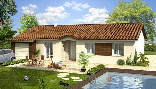 Maisons du constructeur VOIRON CONSTRUCTIONS • 81 m² • COUBLEVIE