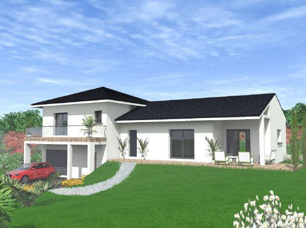 Maisons du constructeur VOIRON CONSTRUCTIONS • 110 m² • GONCELIN