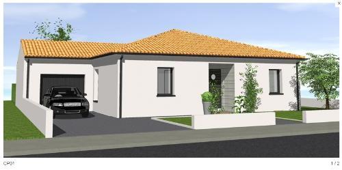 Maisons du constructeur VOIRON CONSTRUCTIONS • 85 m² • SAINT ETIENNE DE SAINT GEOIRS