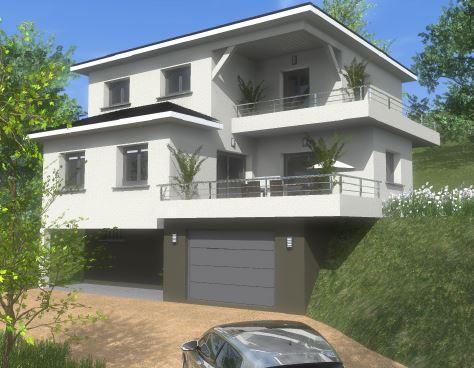 Maisons du constructeur VOIRON CONSTRUCTIONS • 125 m² • GONCELIN