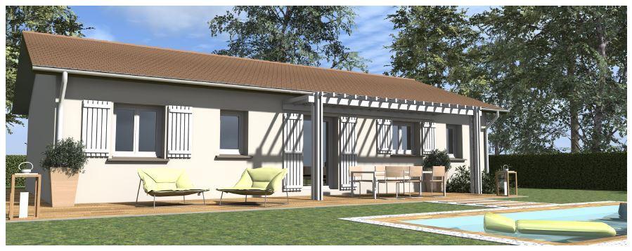 Maisons du constructeur VOIRON CONSTRUCTIONS • 90 m² • PENOL