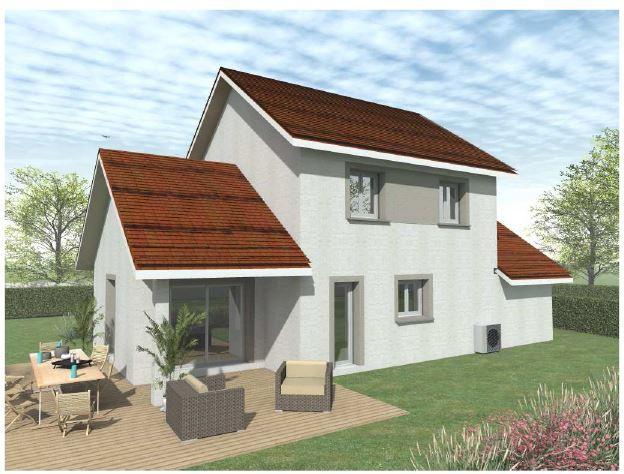 Maisons du constructeur VOIRON CONSTRUCTIONS • 107 m² • SAINT GEOIRE EN VALDAINE