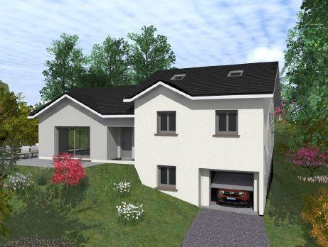 Maisons du constructeur VOIRON CONSTRUCTIONS • 90 m² • COUBLEVIE