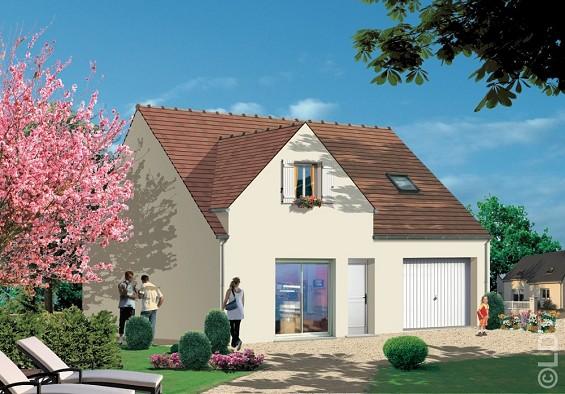 Maisons du constructeur GROUPE LESTERLIN • 88 m² • ANGICOURT