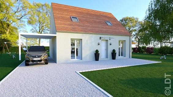 Maisons du constructeur GROUPE LESTERLIN • 101 m² • SAINT CREPIN AUX BOIS