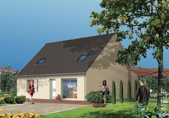 Maisons du constructeur GROUPE LESTERLIN • 83 m² • JOUY SOUS THELLE