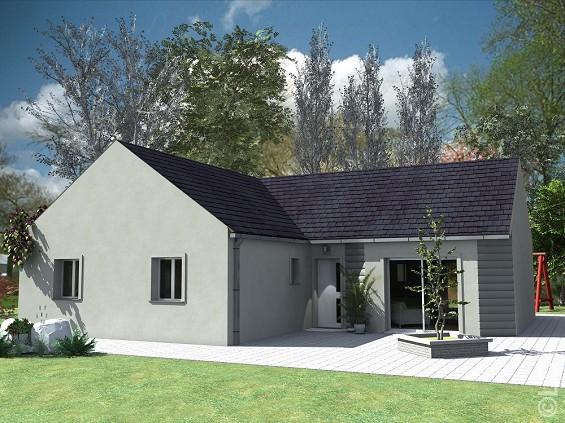 Maisons du constructeur GROUPE LESTERLIN • 85 m² • PONT SAINTE MAXENCE