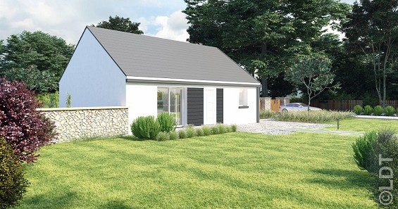 Maisons du constructeur GROUPE LESTERLIN • 70 m² • NOURARD LE FRANC