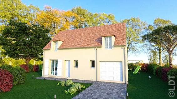 Maisons du constructeur GROUPE LESTERLIN • 93 m² • LA RUE SAINT PIERRE