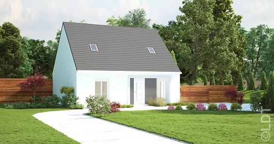 Maisons du constructeur GROUPE LESTERLIN • 93 m² • CREVECOEUR LE GRAND