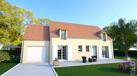 Maisons du constructeur GROUPE LESTERLIN • 107 m² • LATTAINVILLE