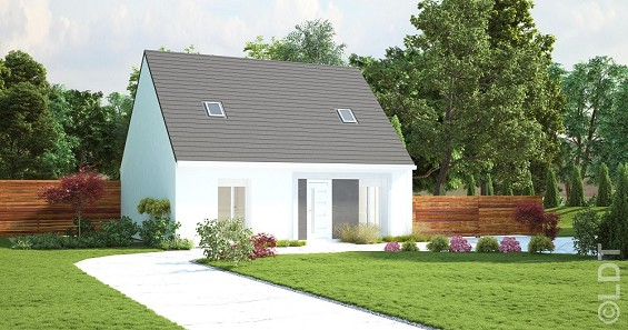 Maisons du constructeur GROUPE LESTERLIN • 93 m² • CAUFFRY