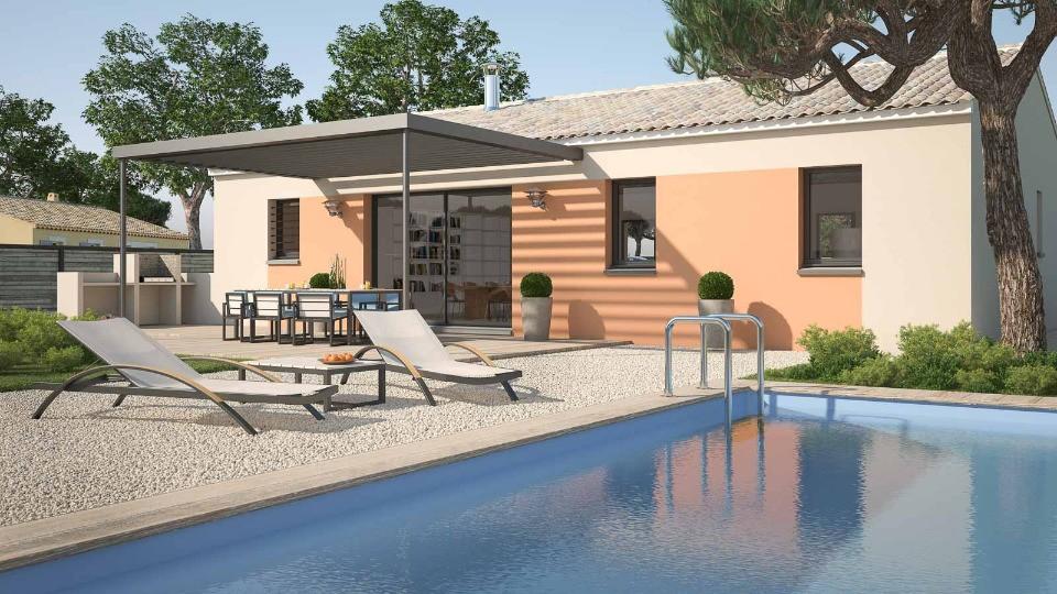 Maisons + Terrains du constructeur MAISONS FRANCE CONFORT • 76 m² • VENTENAC EN MINERVOIS