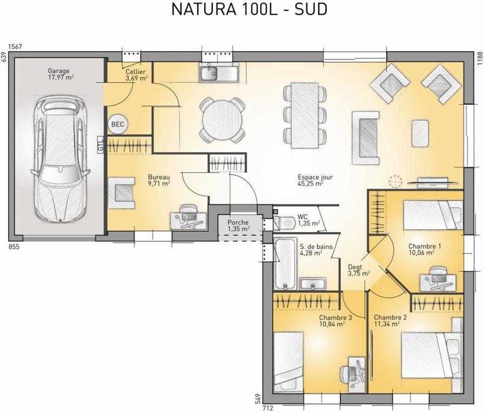 Maisons + Terrains du constructeur MAISONS FRANCE CONFORT • 100 m² • VENTENAC EN MINERVOIS