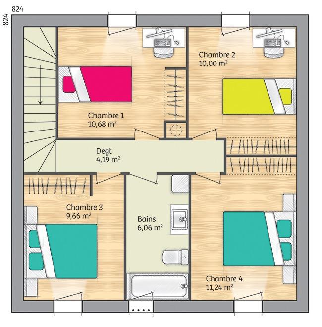 Maisons + Terrains du constructeur MAISONS FRANCE CONFORT • 96 m² • NARBONNE