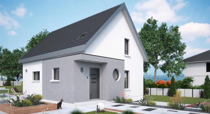 Maisons + Terrains du constructeur MAISONS STEPHANE BERGER • 110 m² • COSSWILLER