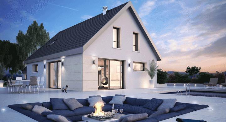 Maisons + Terrains du constructeur MAISONS STEPHANE BERGER •  m² • DURNINGEN