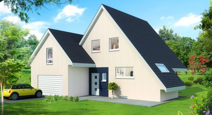 Maisons + Terrains du constructeur MAISONS STEPHANE BERGER • 174 m² • ROESCHWOOG