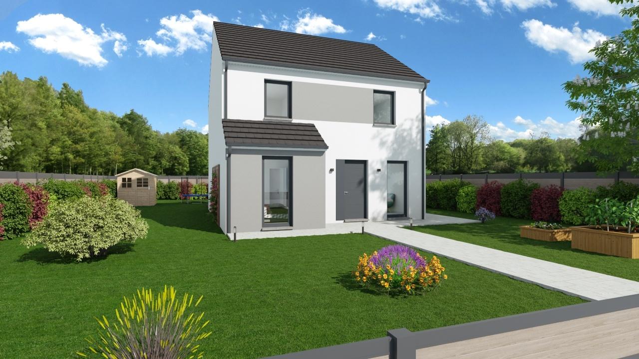Maisons + Terrains du constructeur MAISONS PHENIX • 118 m² • MERY SUR OISE