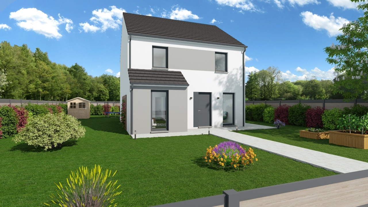 Maisons + Terrains du constructeur MAISONS PHENIX • 118 m² • BEAUMONT SUR OISE