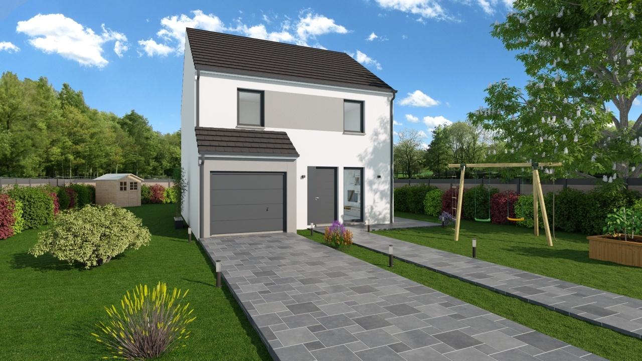 Maisons + Terrains du constructeur MAISONS PHENIX • 102 m² • ERMONT