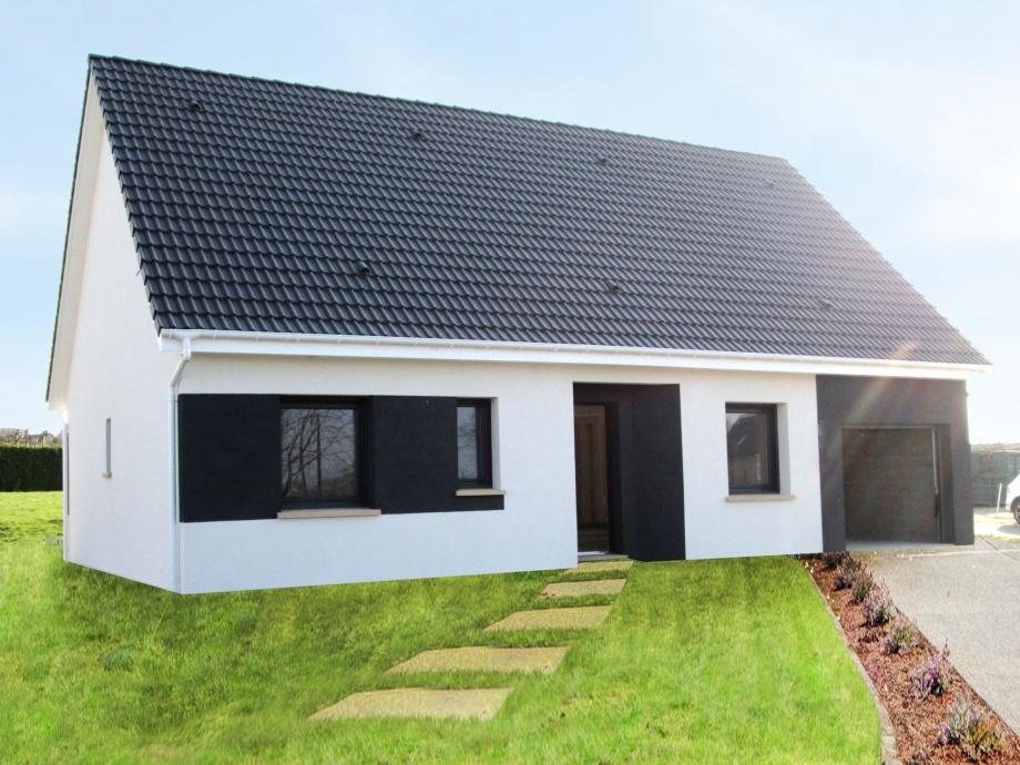 Maisons + Terrains du constructeur MAISON CASTOR • 85 m² • BELLENGREVILLE